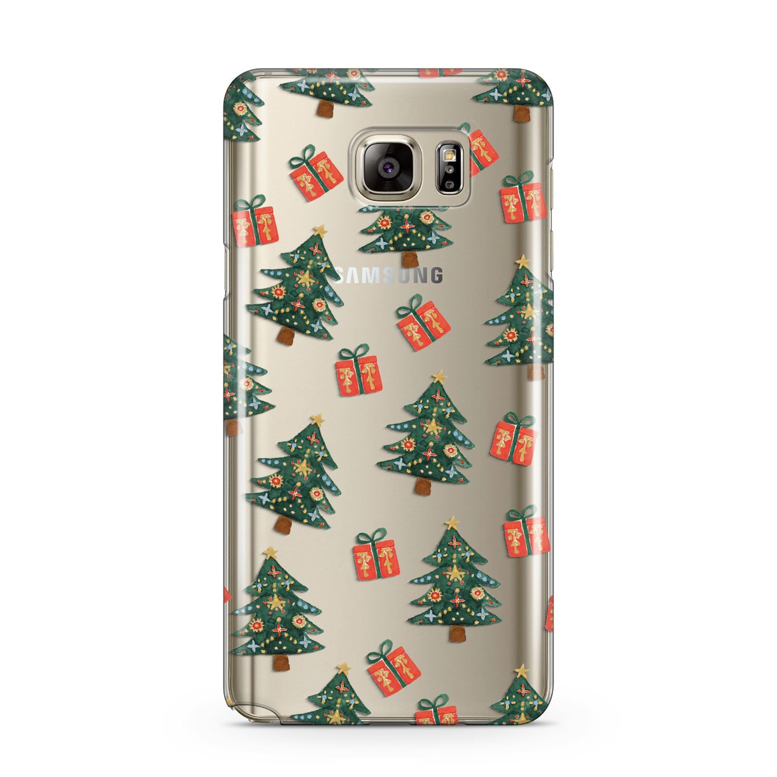 Christmas tree and presents Samsung Galaxy Note 5 Case