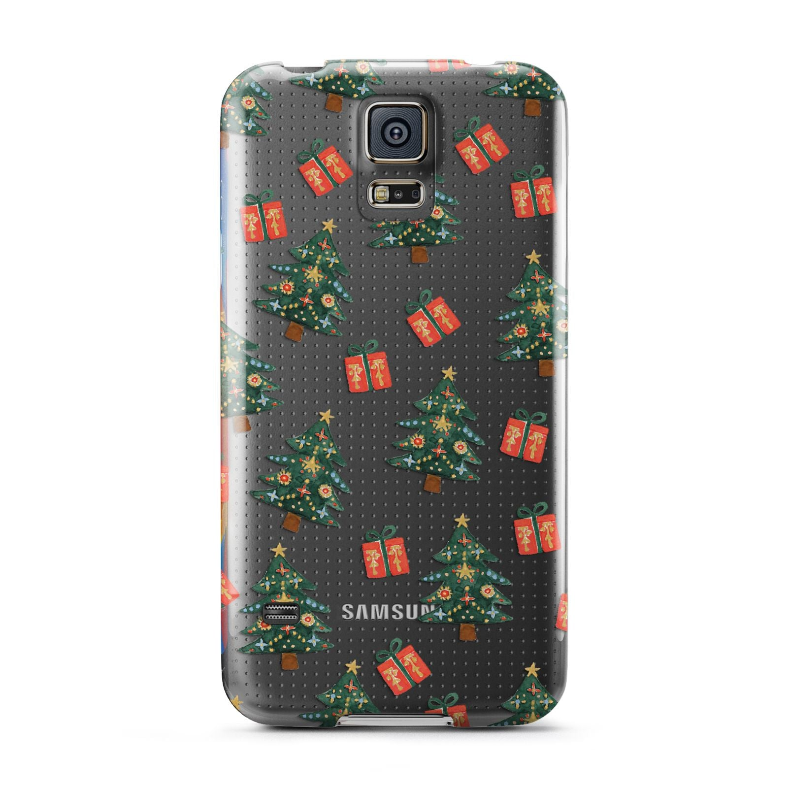 Christmas tree and presents Samsung Galaxy S5 Case