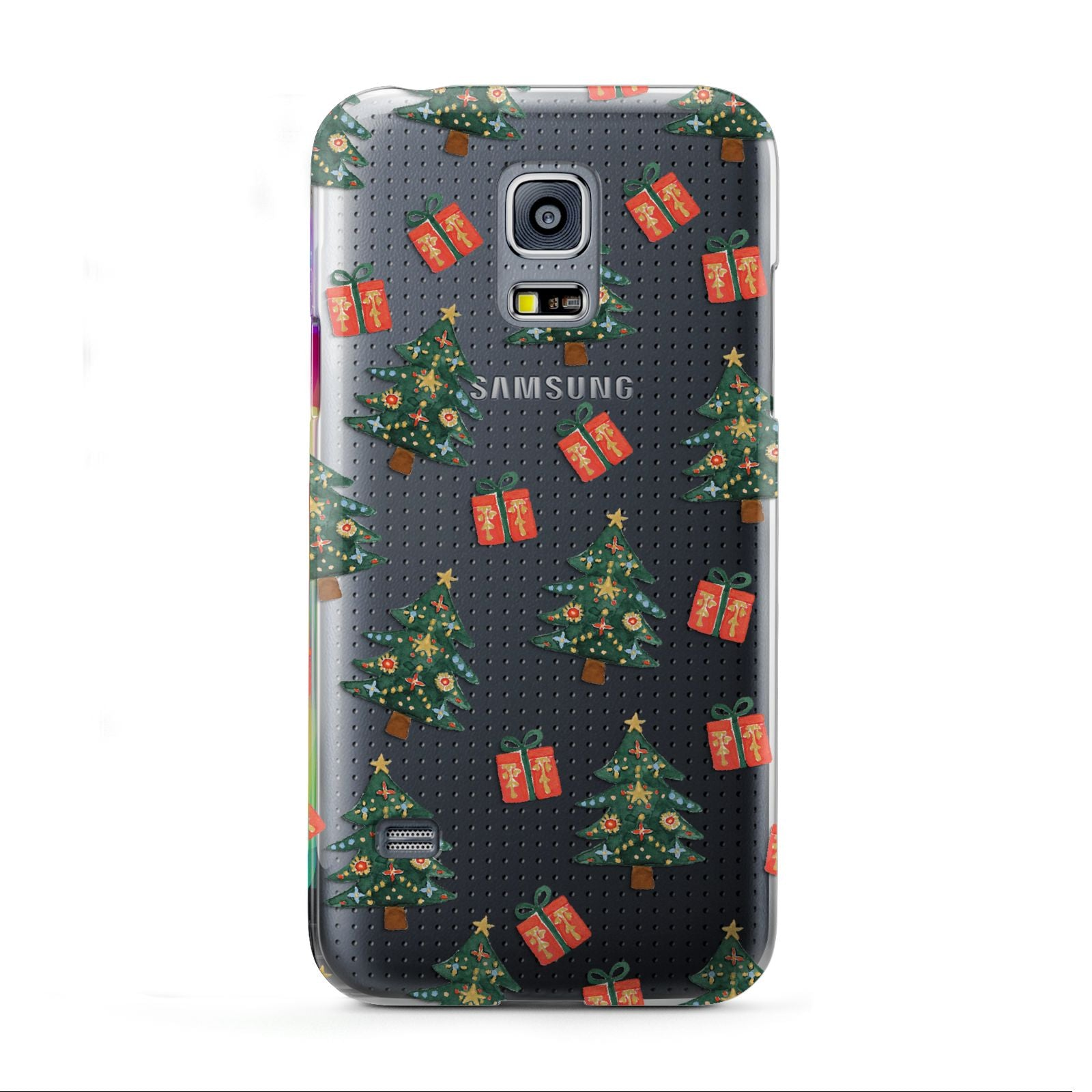 Christmas tree and presents Samsung Galaxy S5 Mini Case