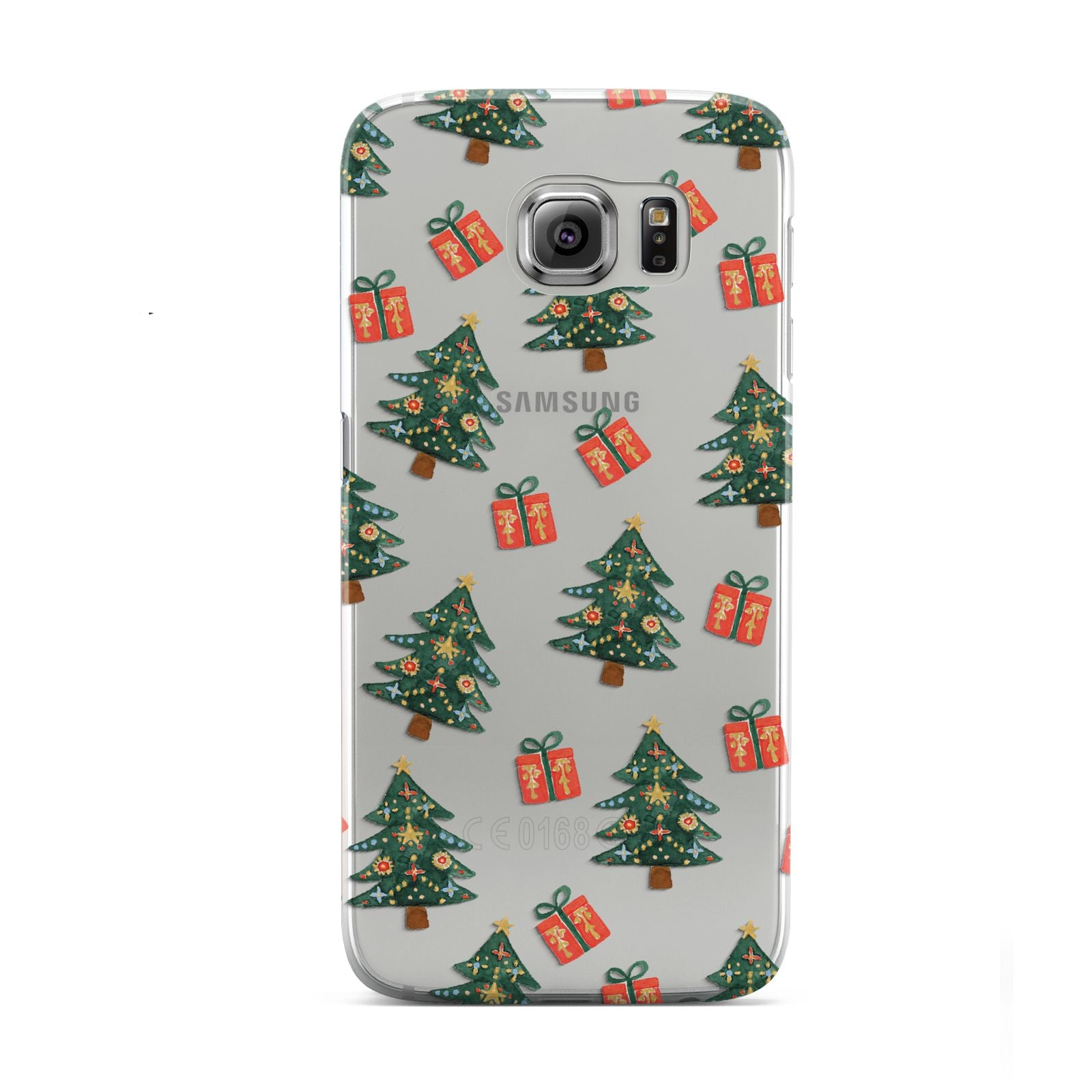 Christmas tree and presents Samsung Galaxy S6 Case