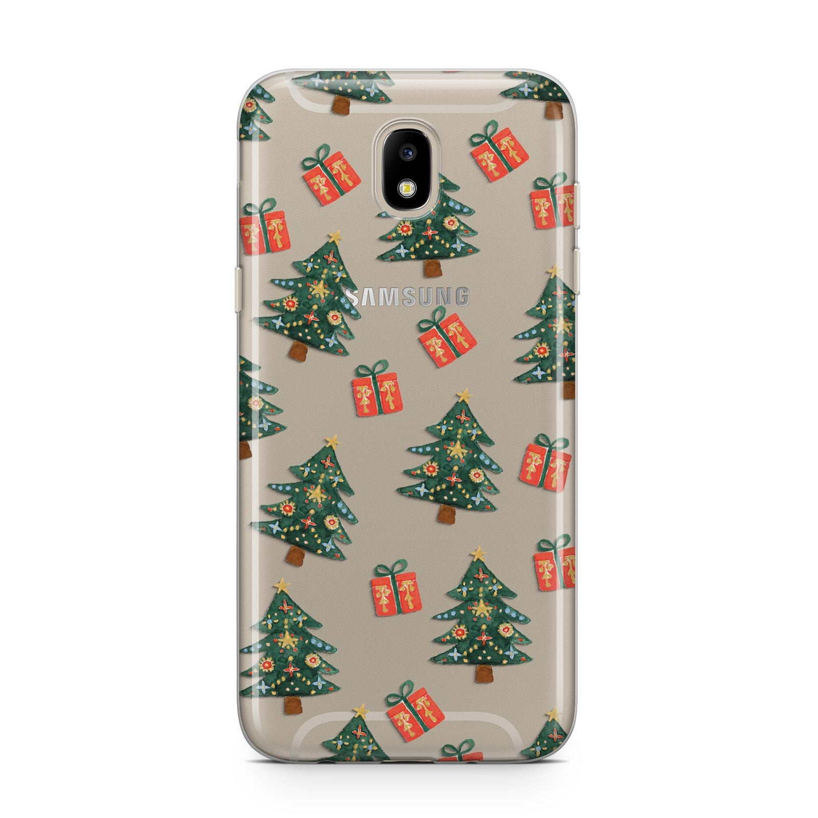 Christmas tree and presents Samsung J5 2017 Case