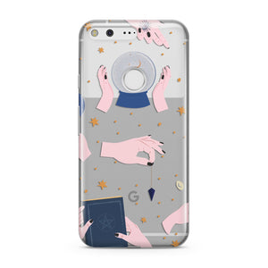 Clairvoyant Witches Hands Google Pixel Case