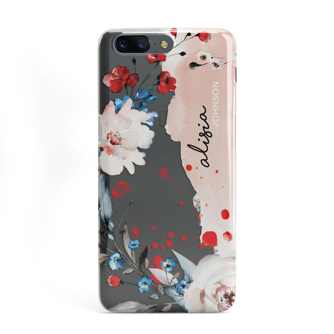 Custom Name Floral Bouquet OnePlus Case