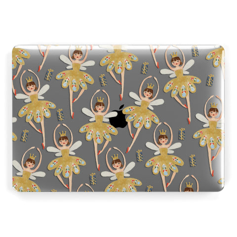 Dancing ballerina princess Macbook Case