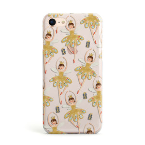 Dancing ballerina princess Apple iPhone Case