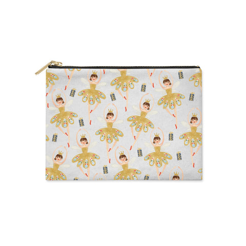Dancing ballerina princess Clutch Bag