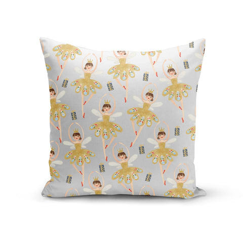 Dancing ballerina princess Cushion