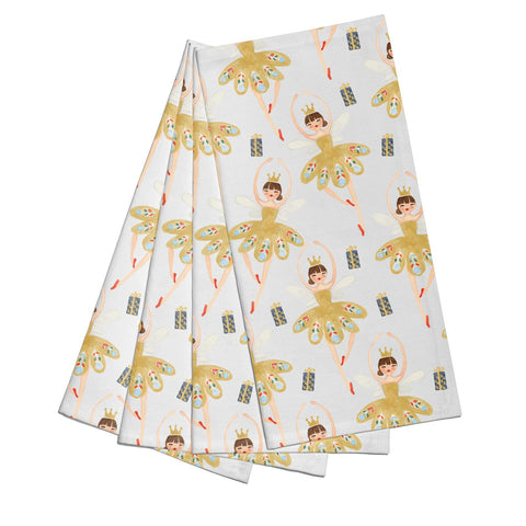 Dancing ballerina princess Napkins