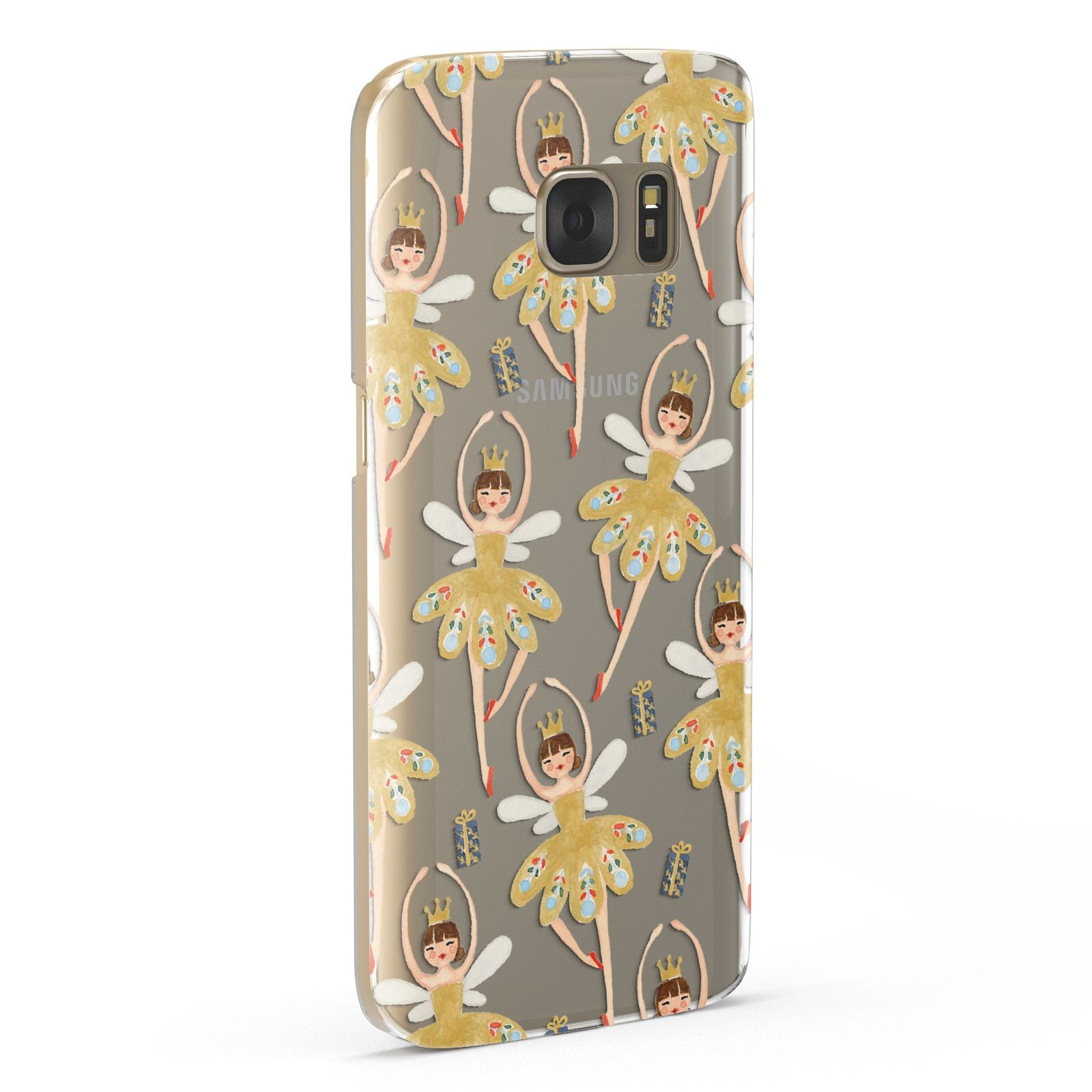 Dancing ballerina princess Samsung Galaxy Case Fourty Five Degrees