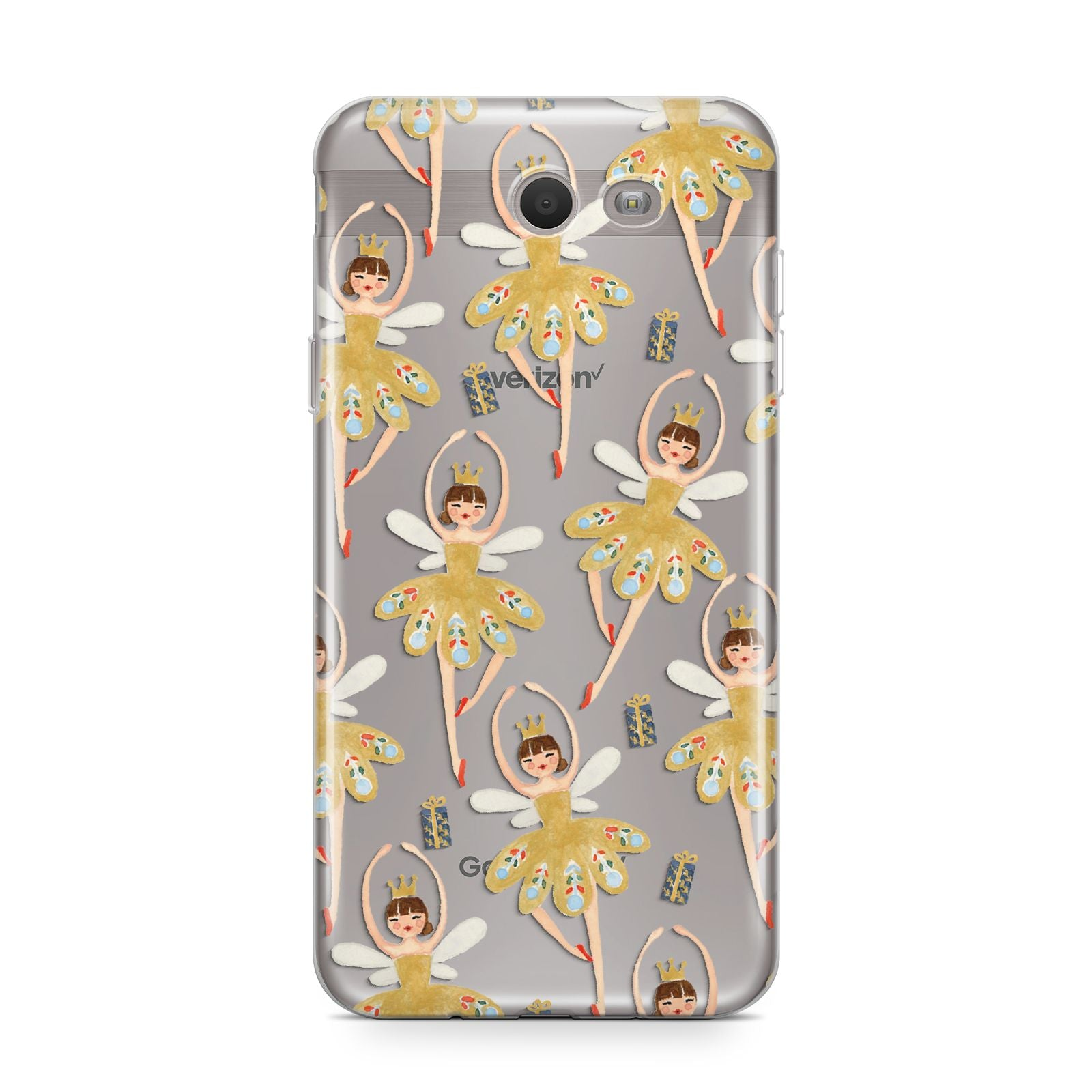 Dancing ballerina princess Samsung Galaxy J7 2017 Case