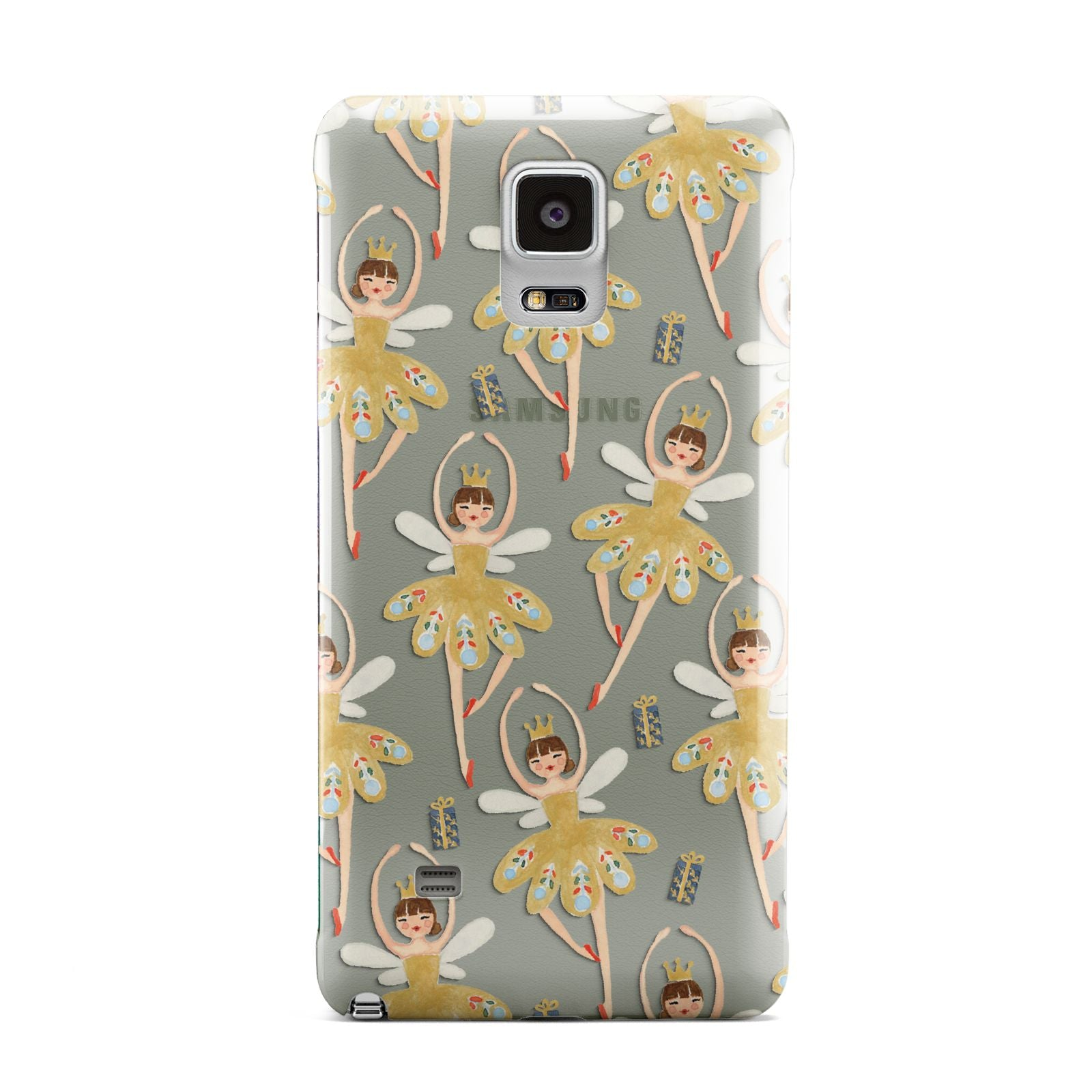 Dancing ballerina princess Samsung Galaxy Note 4 Case