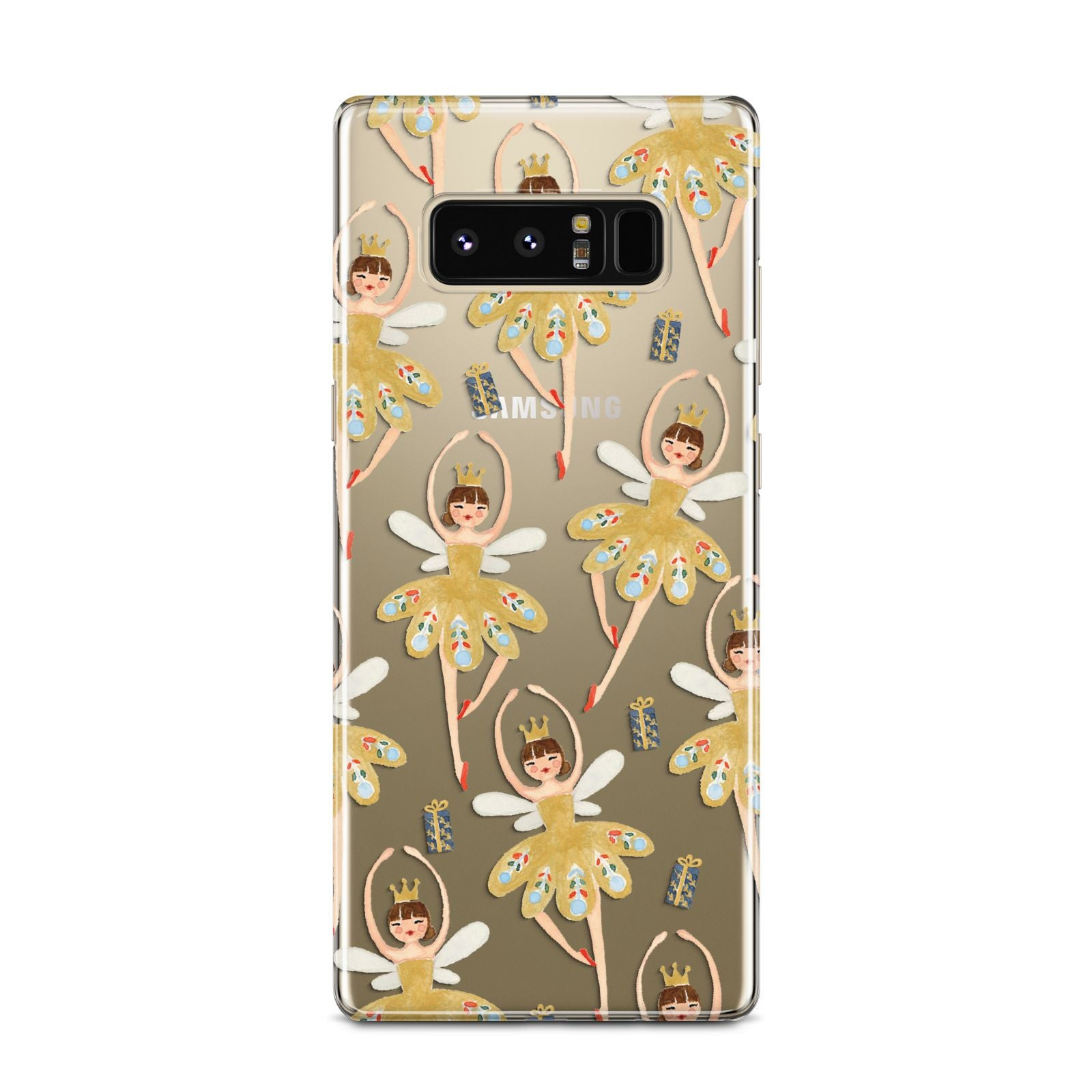 Dancing ballerina princess Samsung Galaxy Note 8 Case