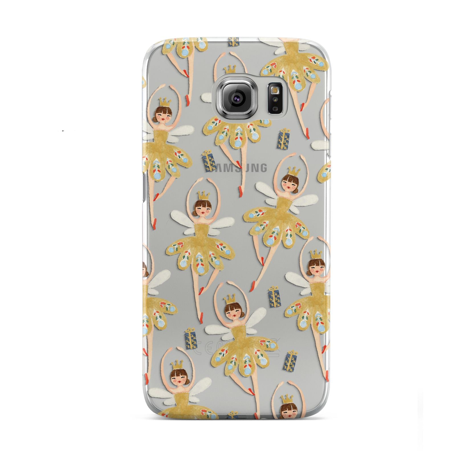 Dancing ballerina princess Samsung Galaxy S6 Case