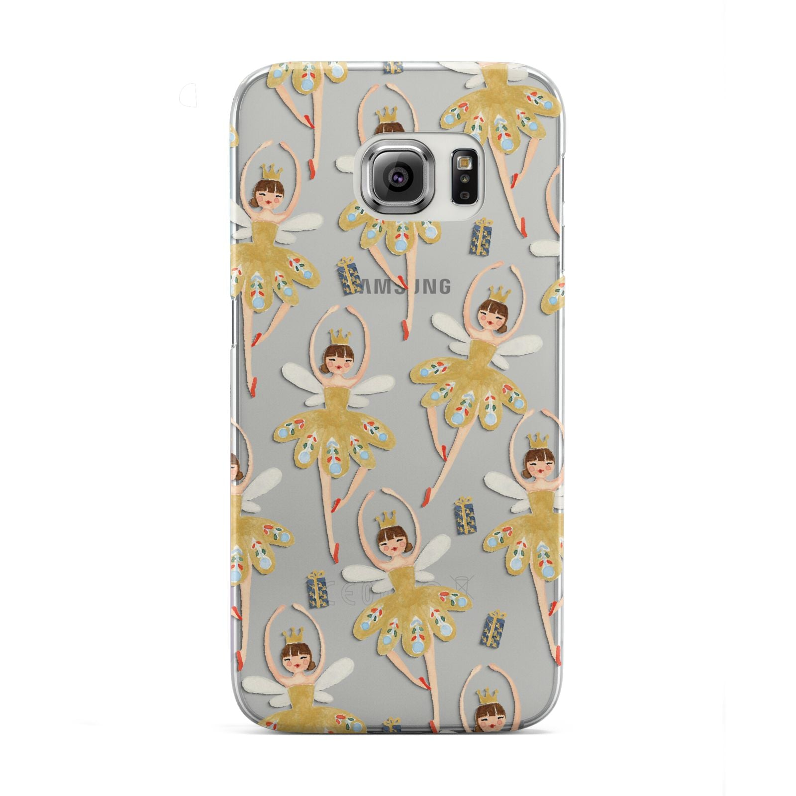 Dancing ballerina princess Samsung Galaxy S6 Edge Case