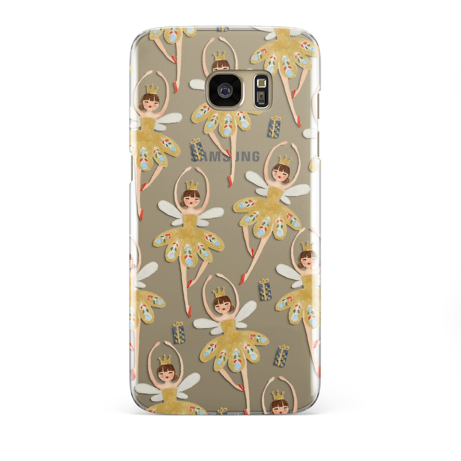 Dancing ballerina princess Samsung Galaxy S7 Edge Case