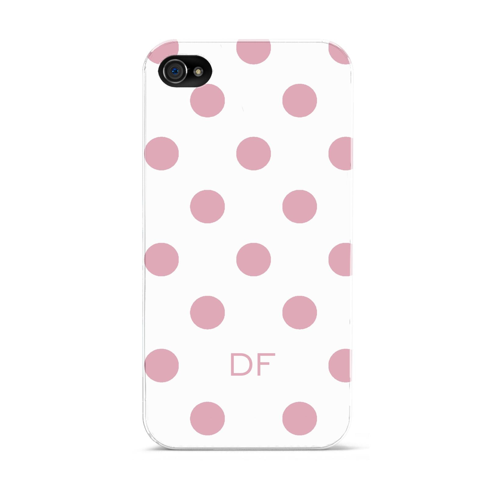 Dots Initials Personalised Apple iPhone 4s Case