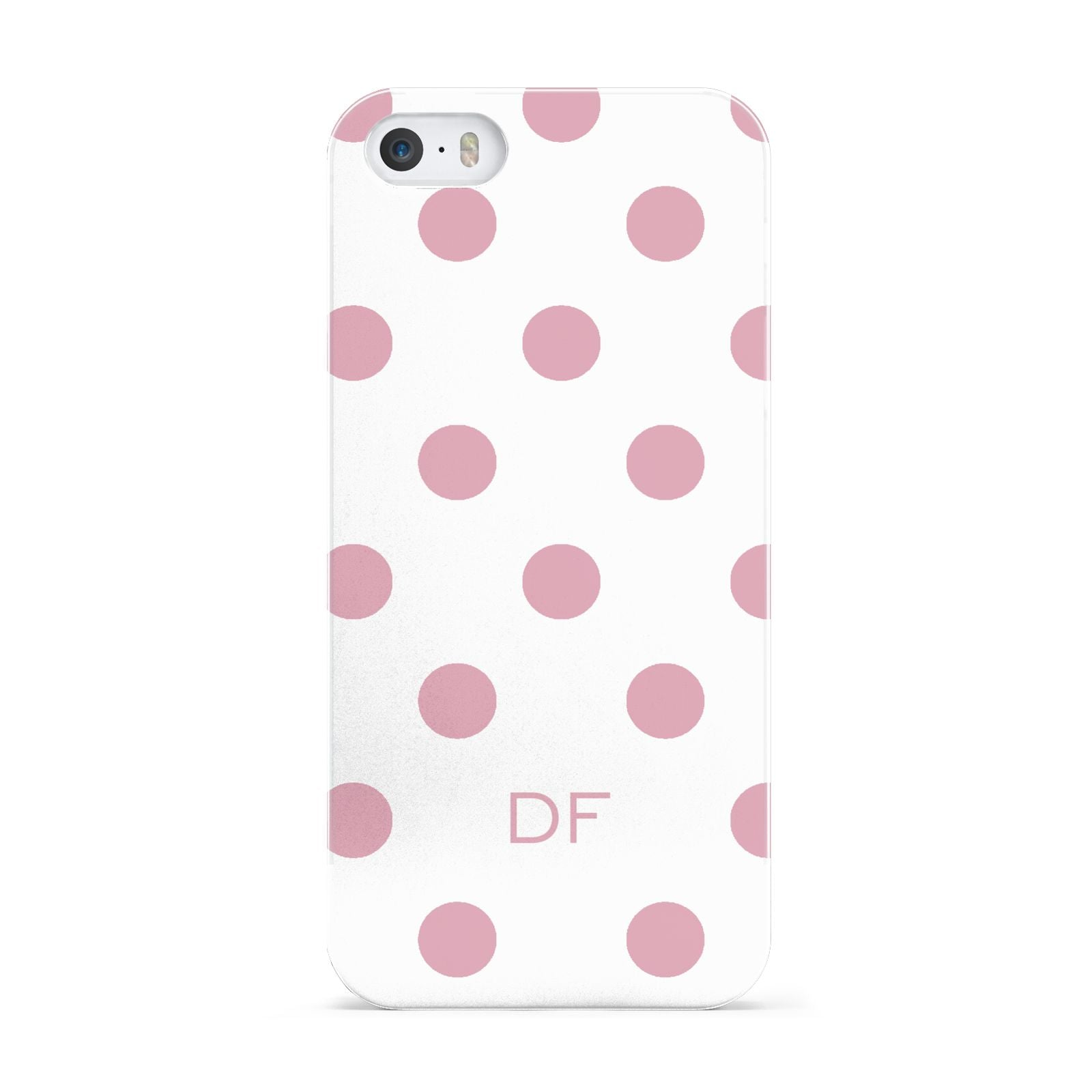 Dots Initials Personalised Apple iPhone 5 Case