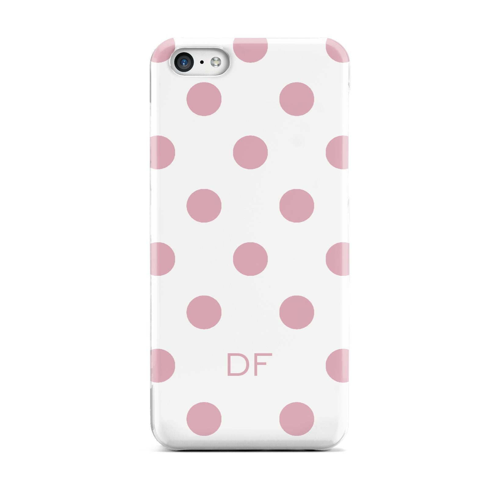 Dots Initials Personalised Apple iPhone 5c Case