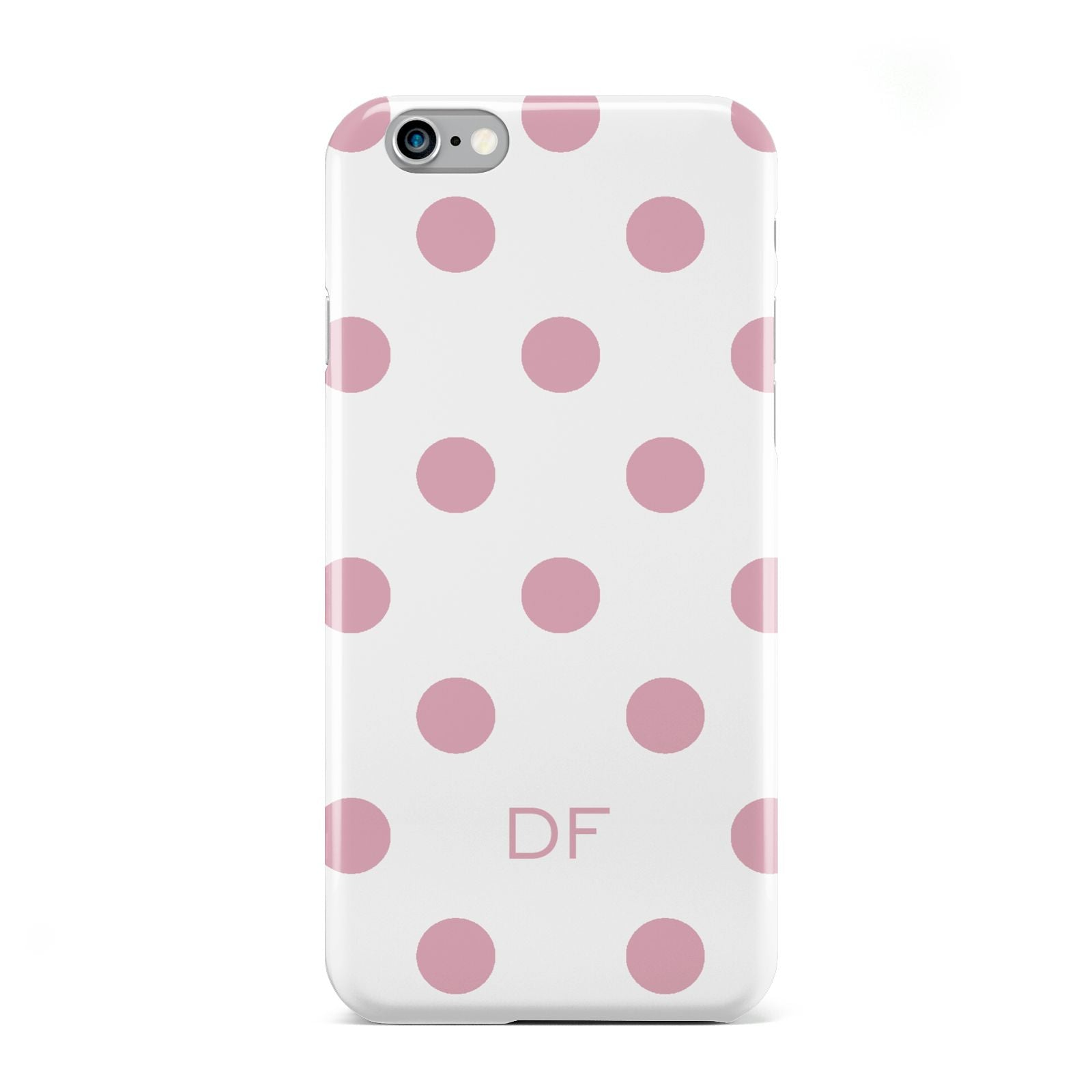 Dots Initials Personalised Apple iPhone 6 Case
