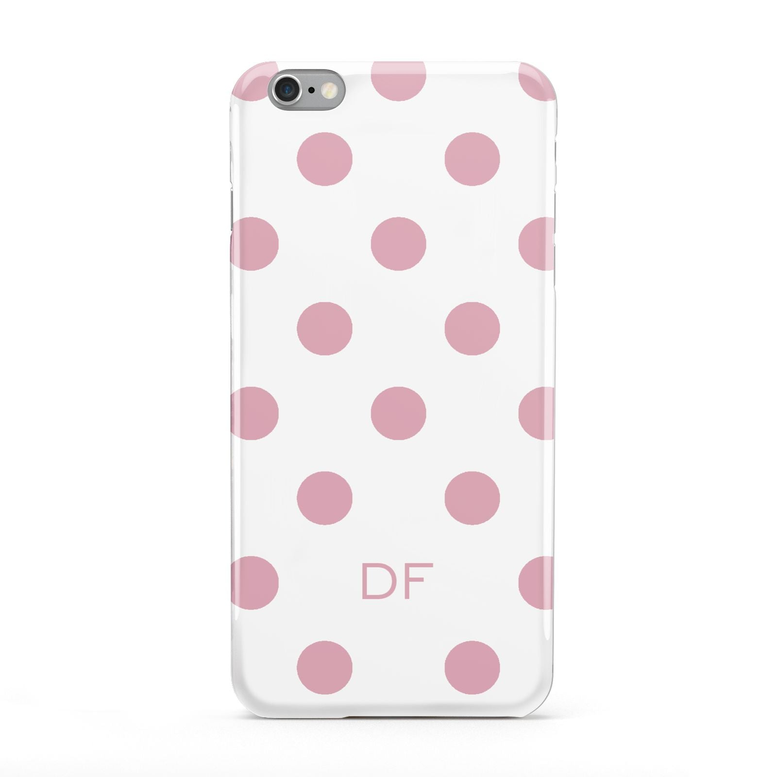 Dots Initials Personalised Apple iPhone 6 Plus Case