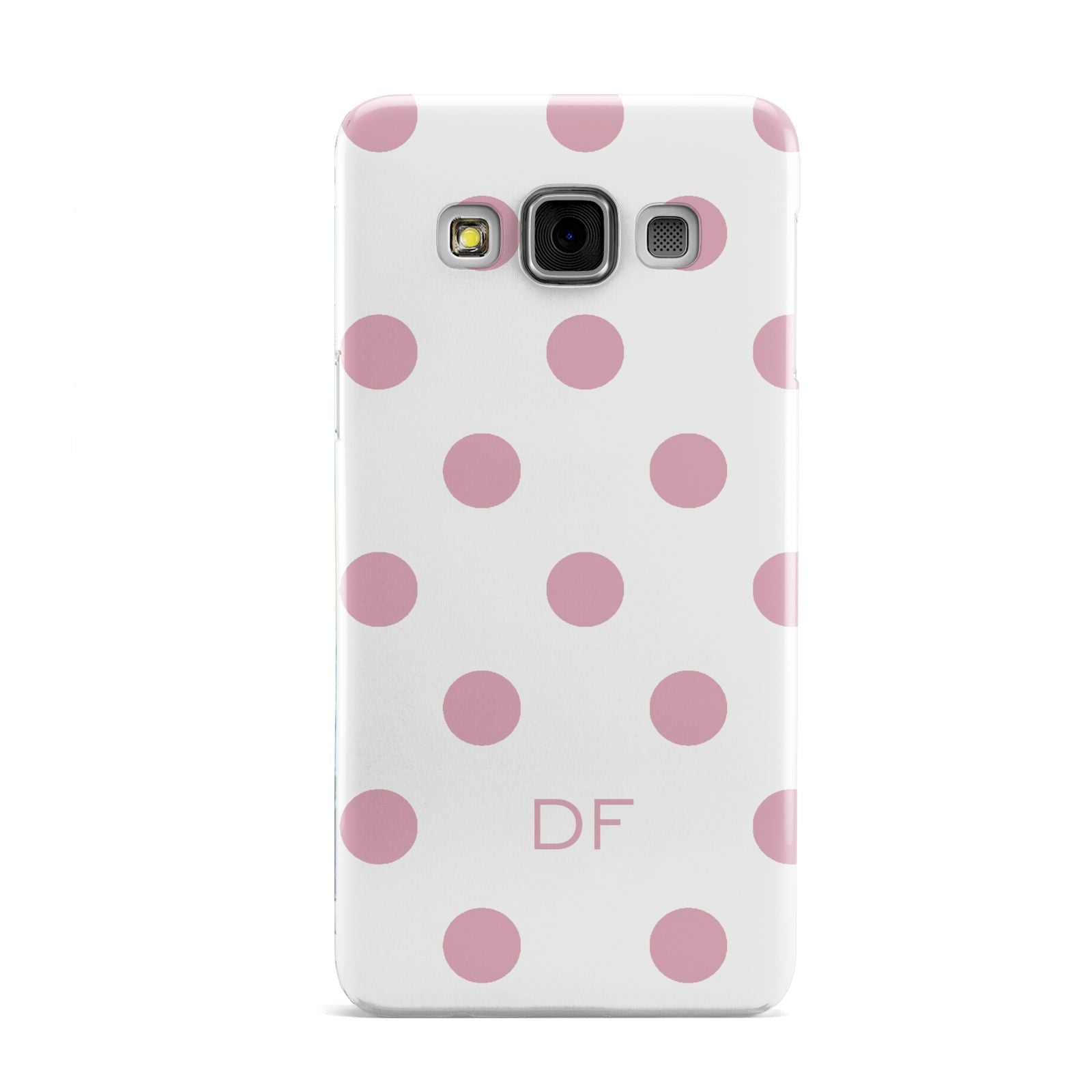 Dots Initials Personalised Samsung Galaxy A3 Case
