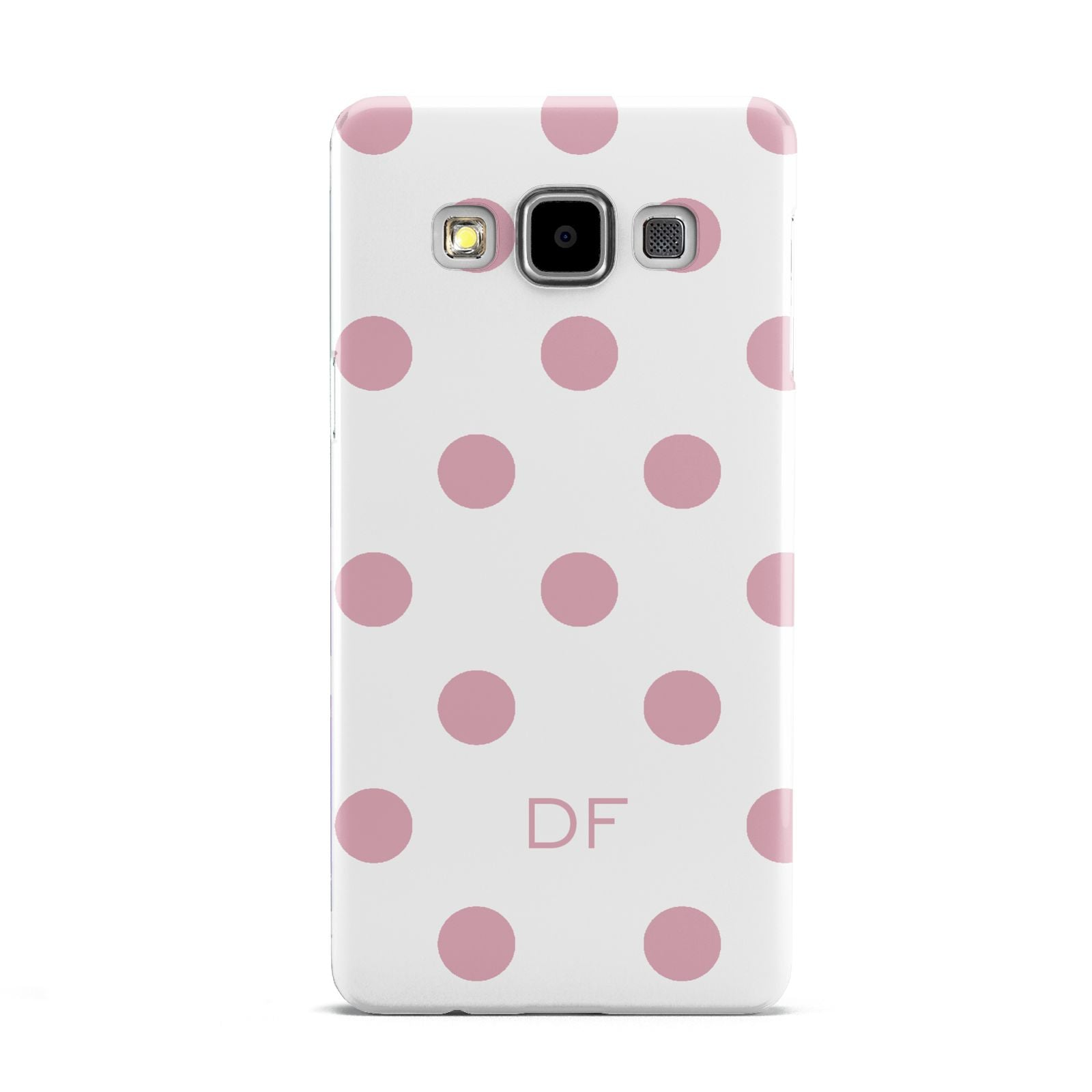 Dots Initials Personalised Samsung Galaxy A5 Case