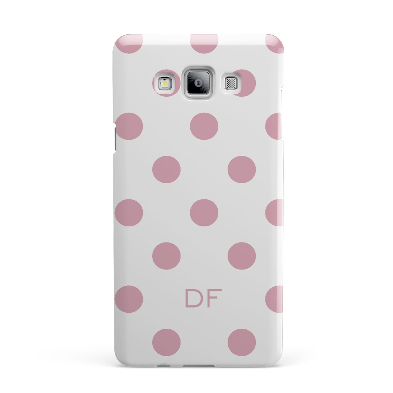 Dots Initials Personalised Samsung Galaxy A7 2015 Case