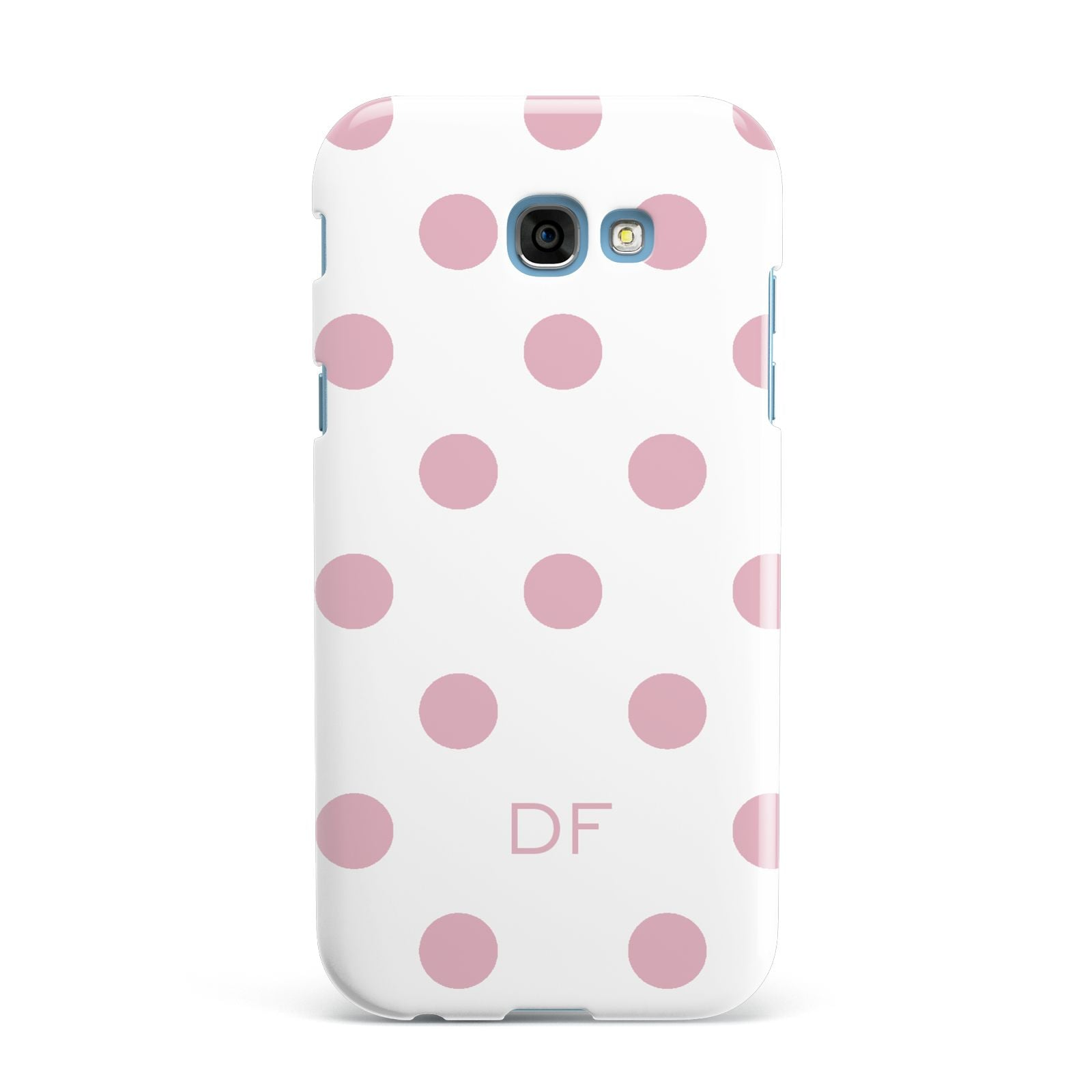 Dots Initials Personalised Samsung Galaxy A7 2017 Case