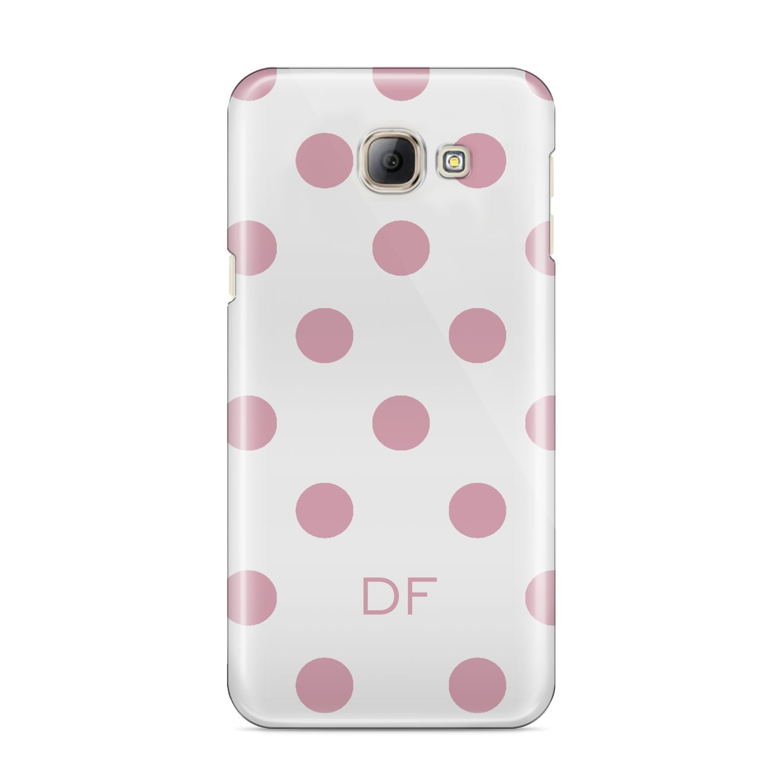 Dots Initials Personalised Samsung Galaxy A8 2016 Case