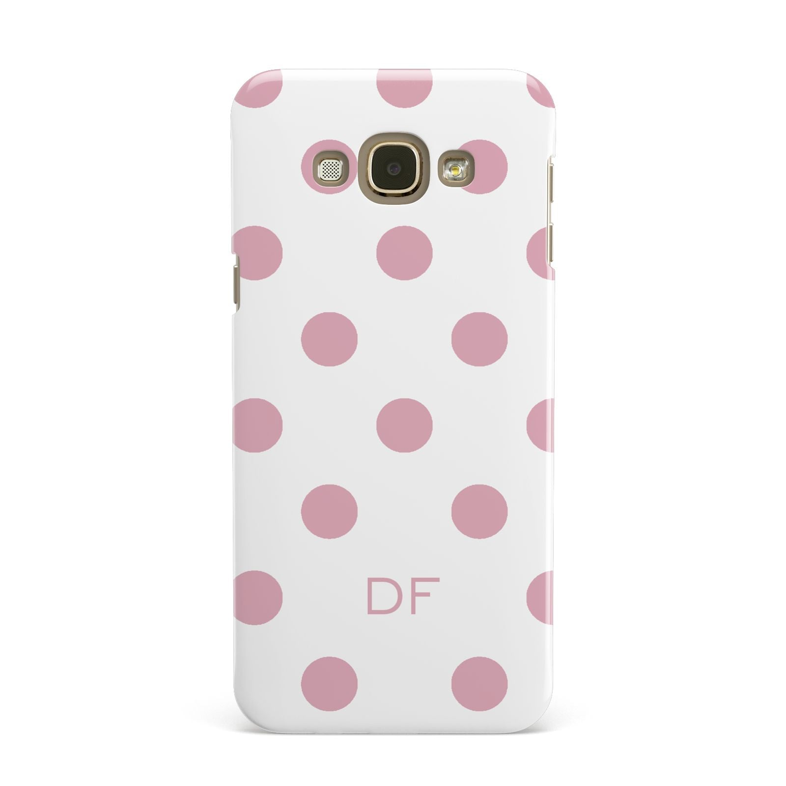 Dots Initials Personalised Samsung Galaxy A8 Case