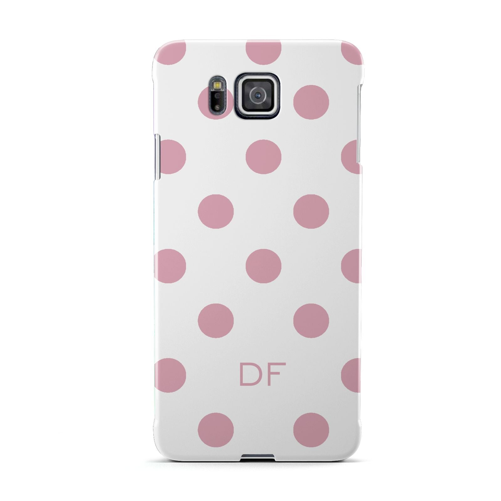Dots Initials Personalised Samsung Galaxy Alpha Case