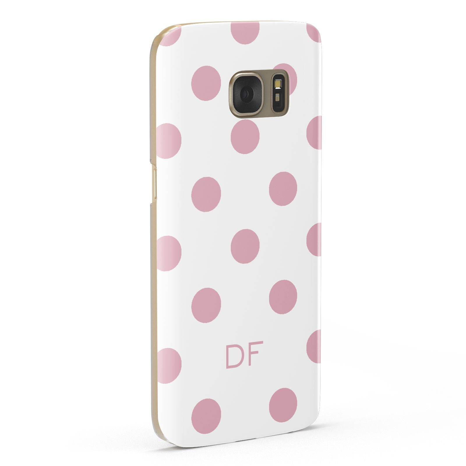 Dots Initials Personalised Samsung Galaxy Case Fourty Five Degrees