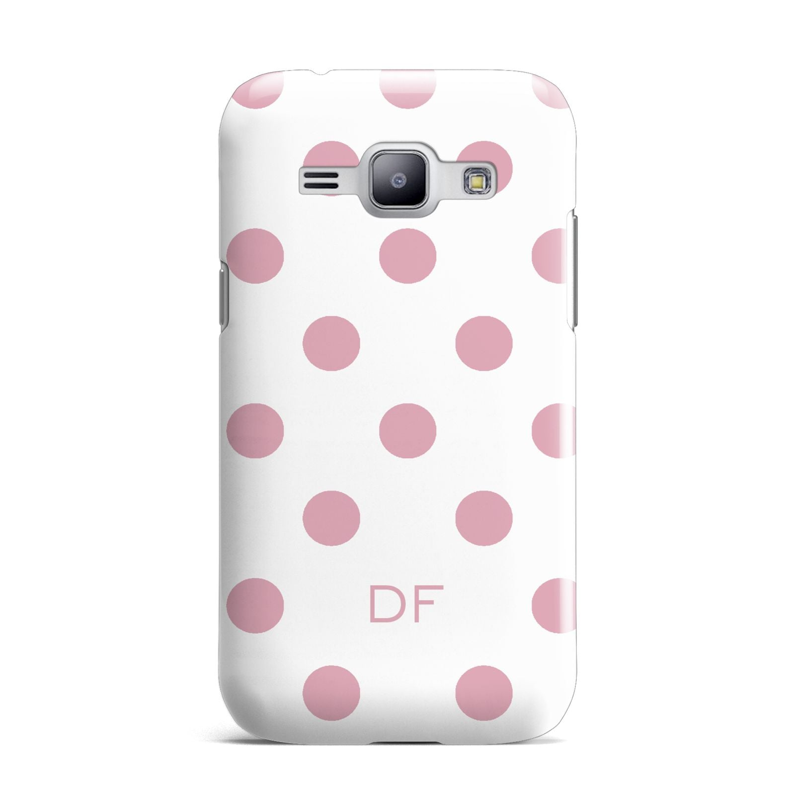 Dots Initials Personalised Samsung Galaxy J1 2015 Case
