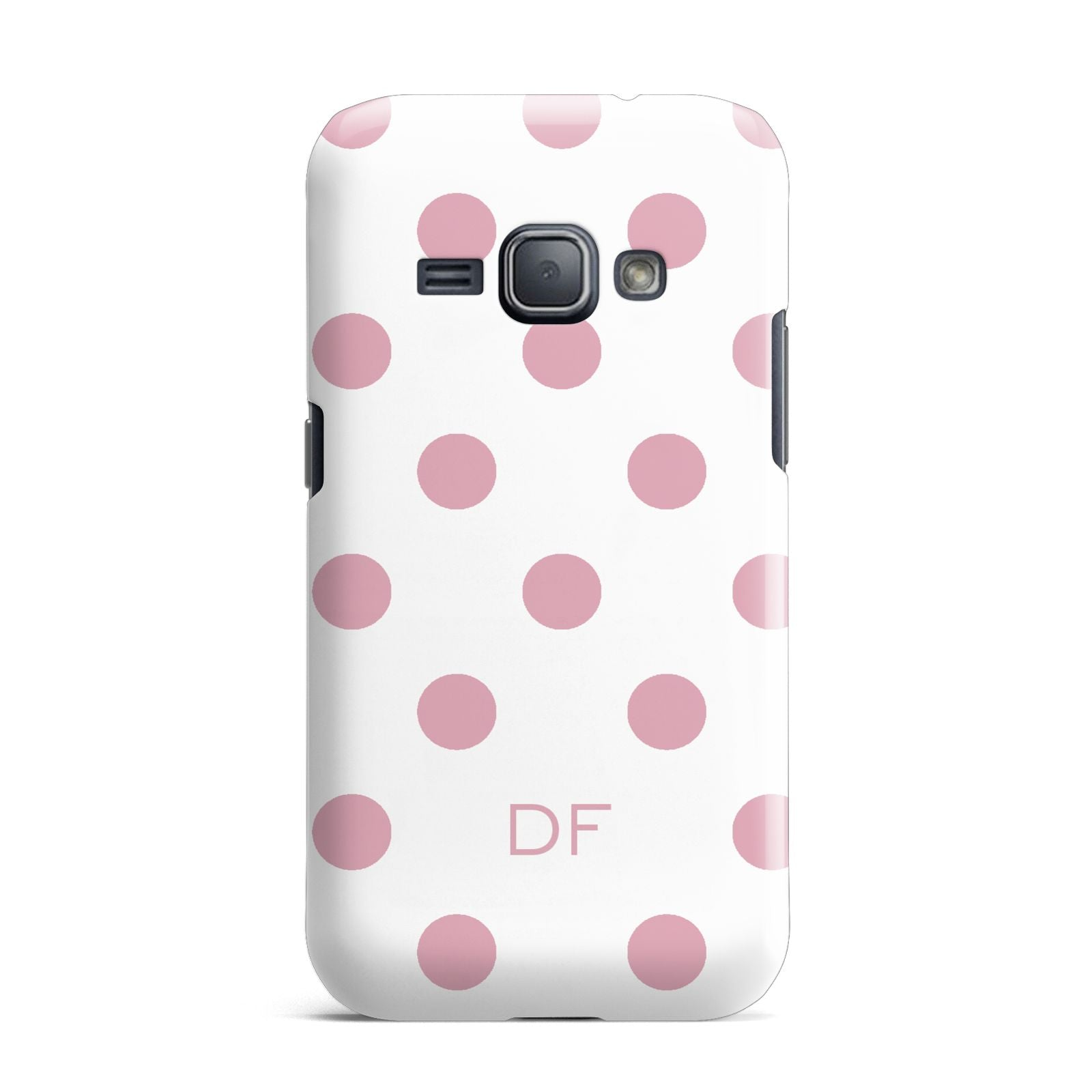 Dots Initials Personalised Samsung Galaxy J1 2016 Case