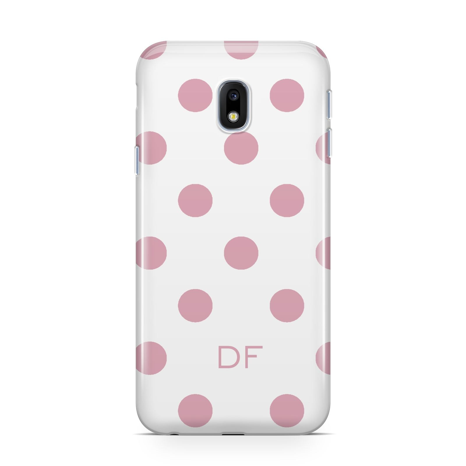 Dots Initials Personalised Samsung Galaxy J3 2017 Case