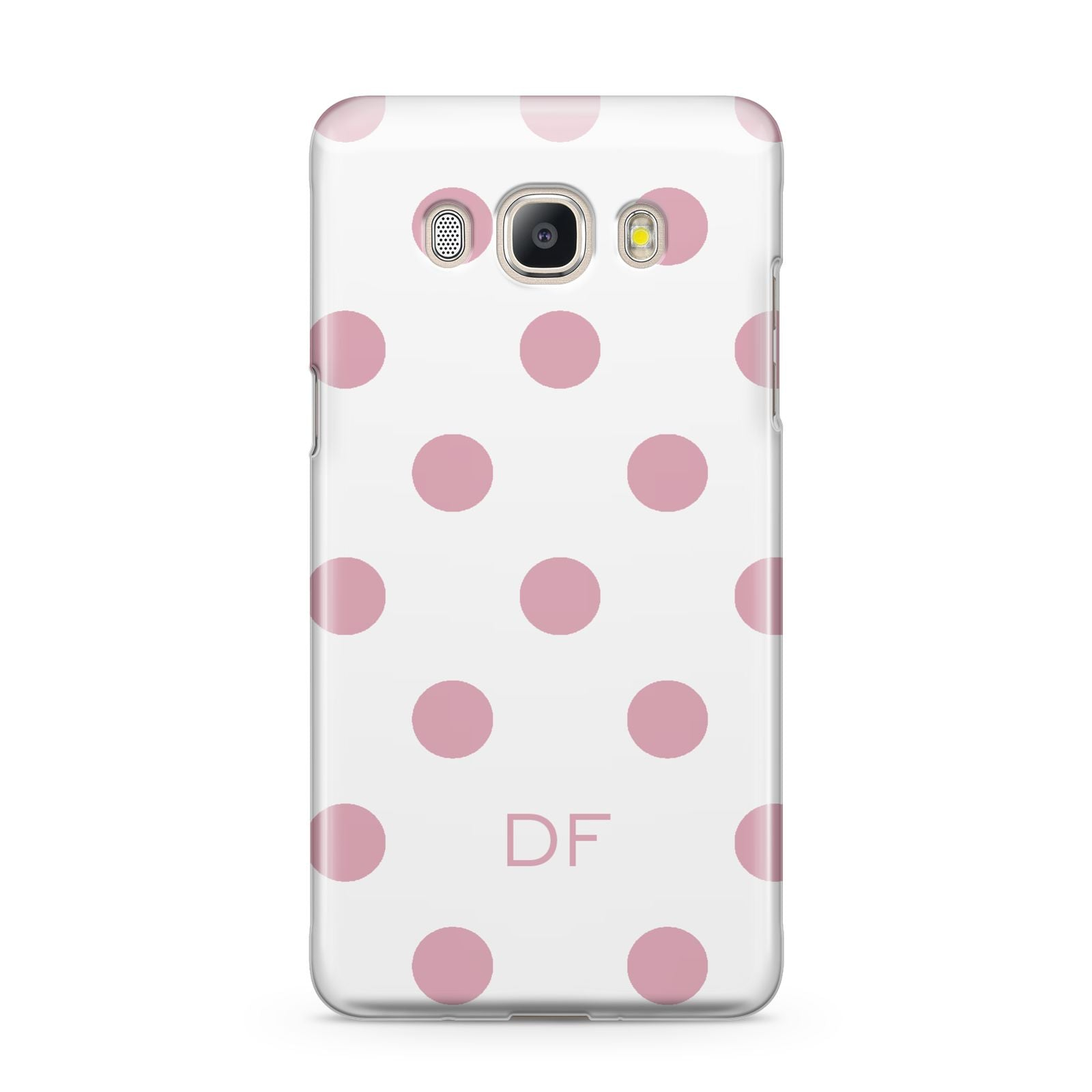 Dots Initials Personalised Samsung Galaxy J5 2016 Case