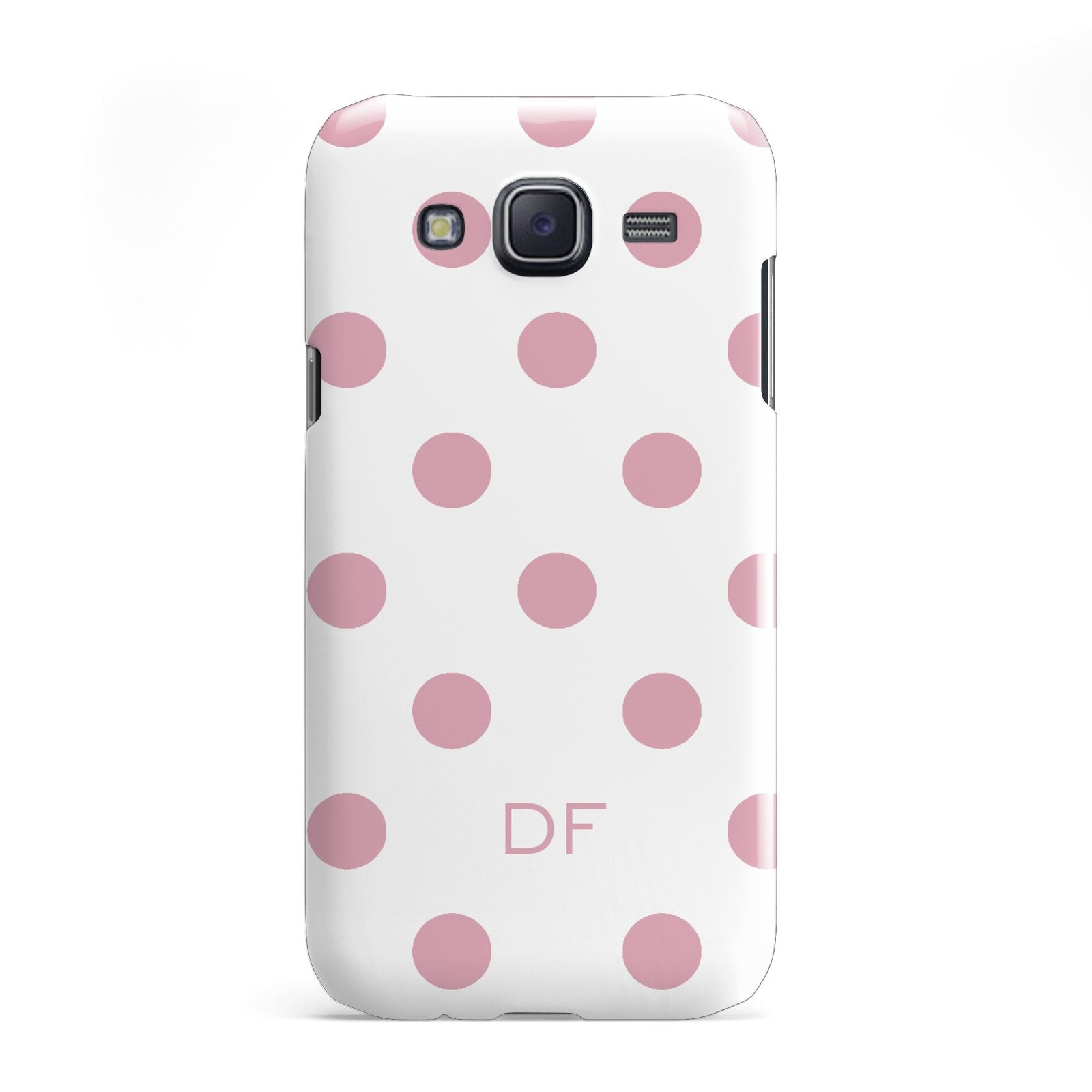 Dots Initials Personalised Samsung Galaxy J5 Case
