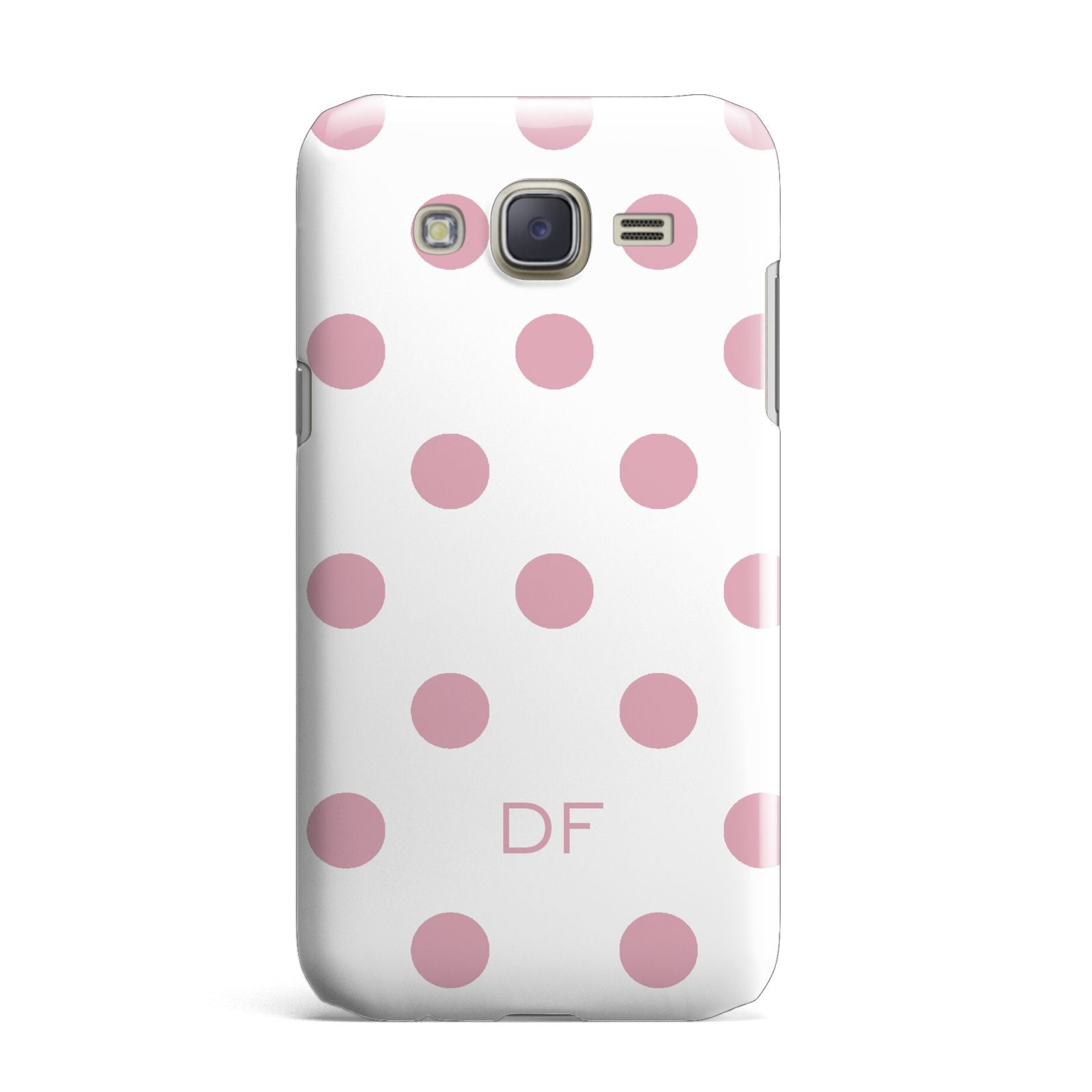 Dots Initials Personalised Samsung Galaxy J7 Case