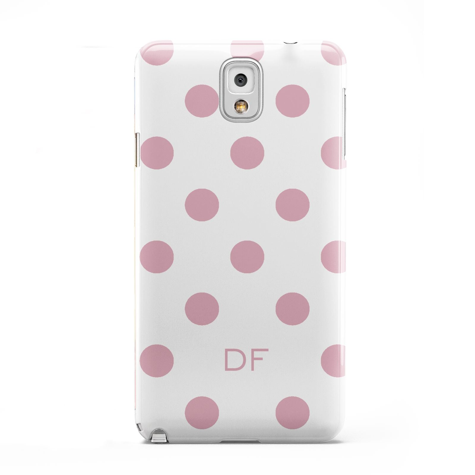 Dots Initials Personalised Samsung Galaxy Note 3 Case