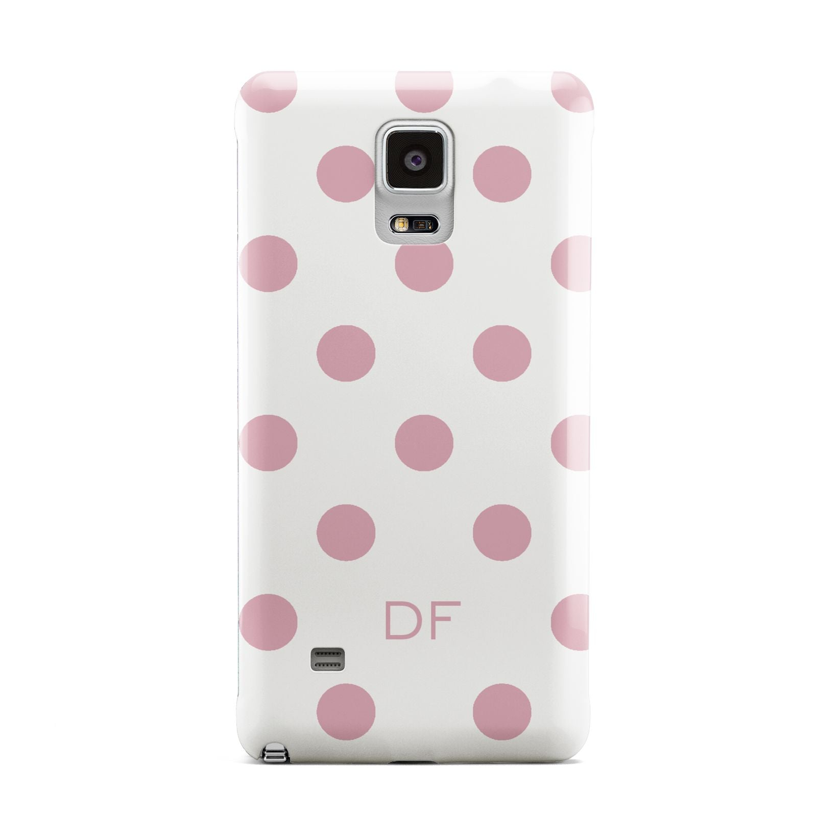 Dots Initials Personalised Samsung Galaxy Note 4 Case