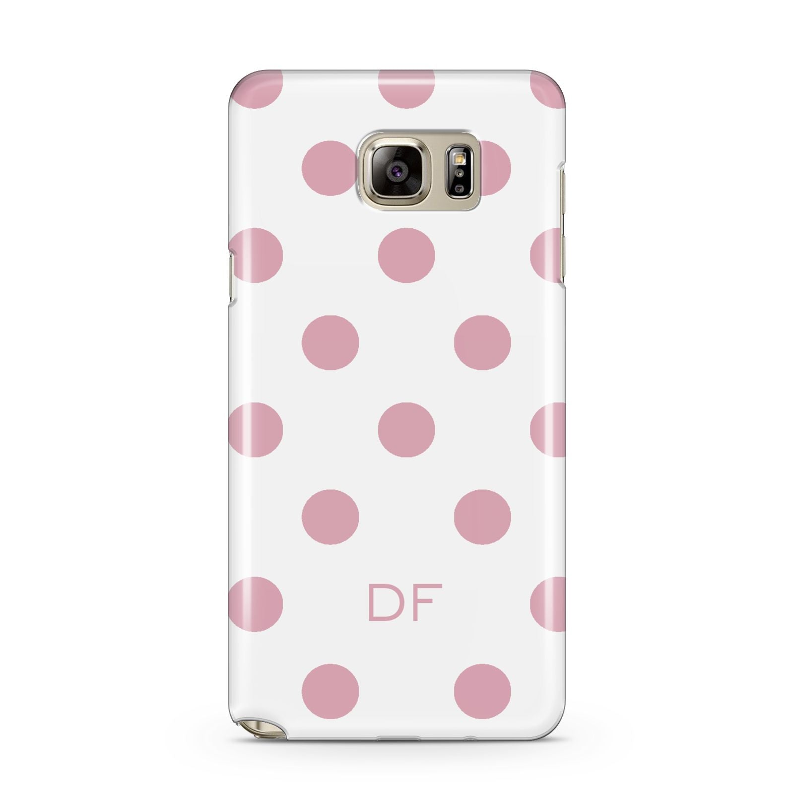 Dots Initials Personalised Samsung Galaxy Note 5 Case