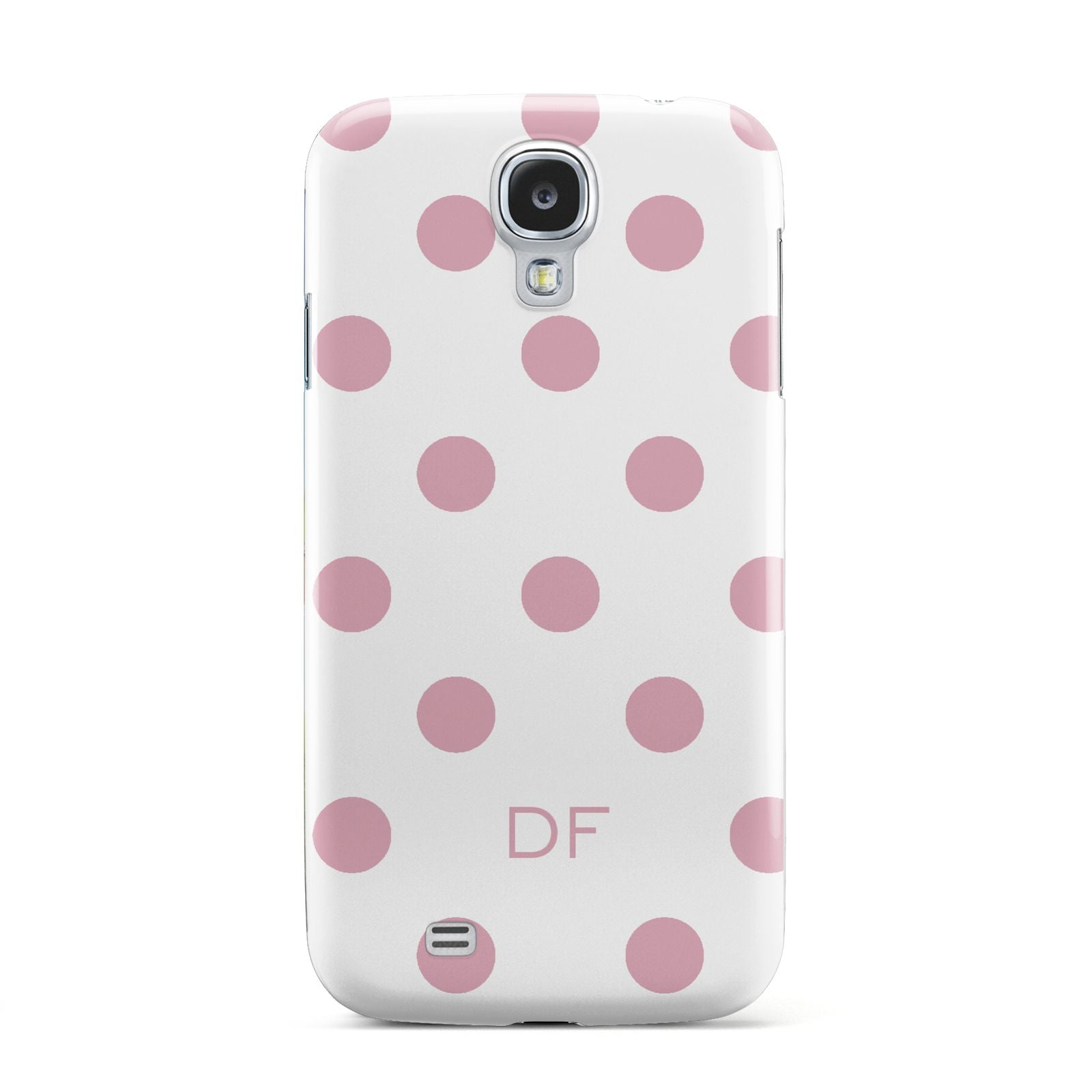 Dots Initials Personalised Samsung Galaxy S4 Case