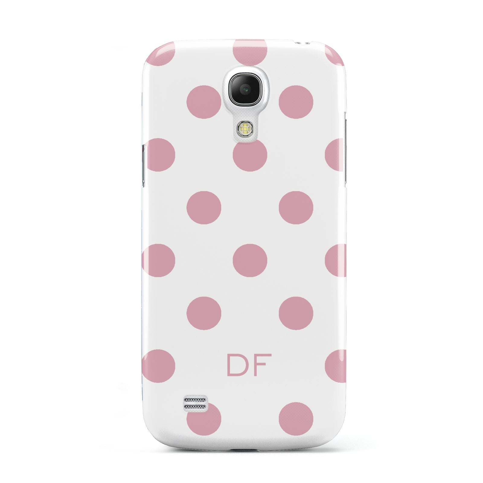 Dots Initials Personalised Samsung Galaxy S4 Mini Case