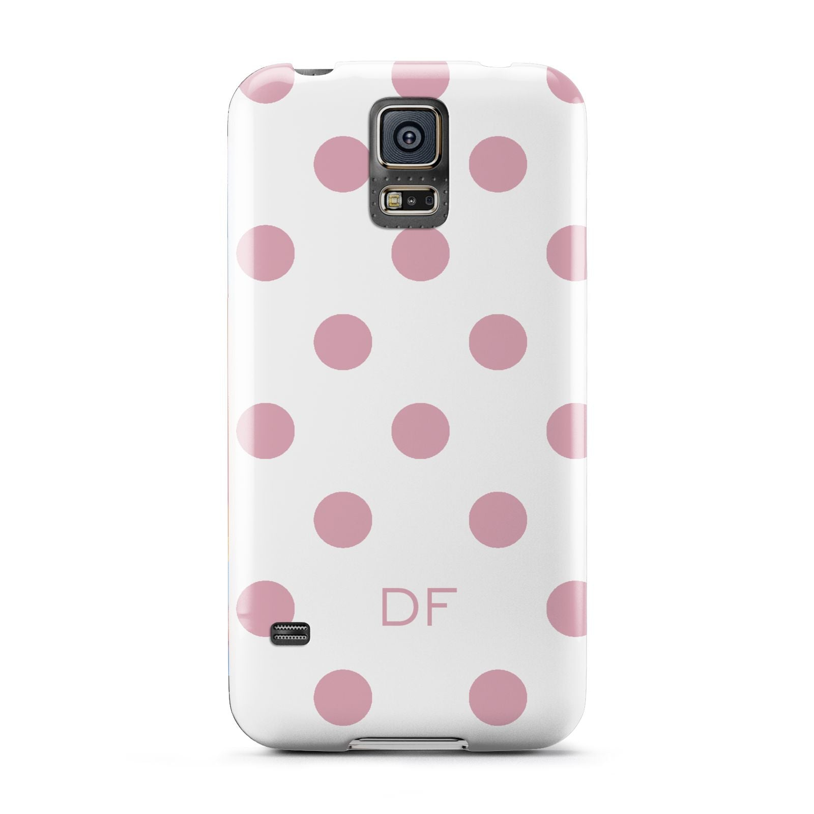 Dots Initials Personalised Samsung Galaxy S5 Case