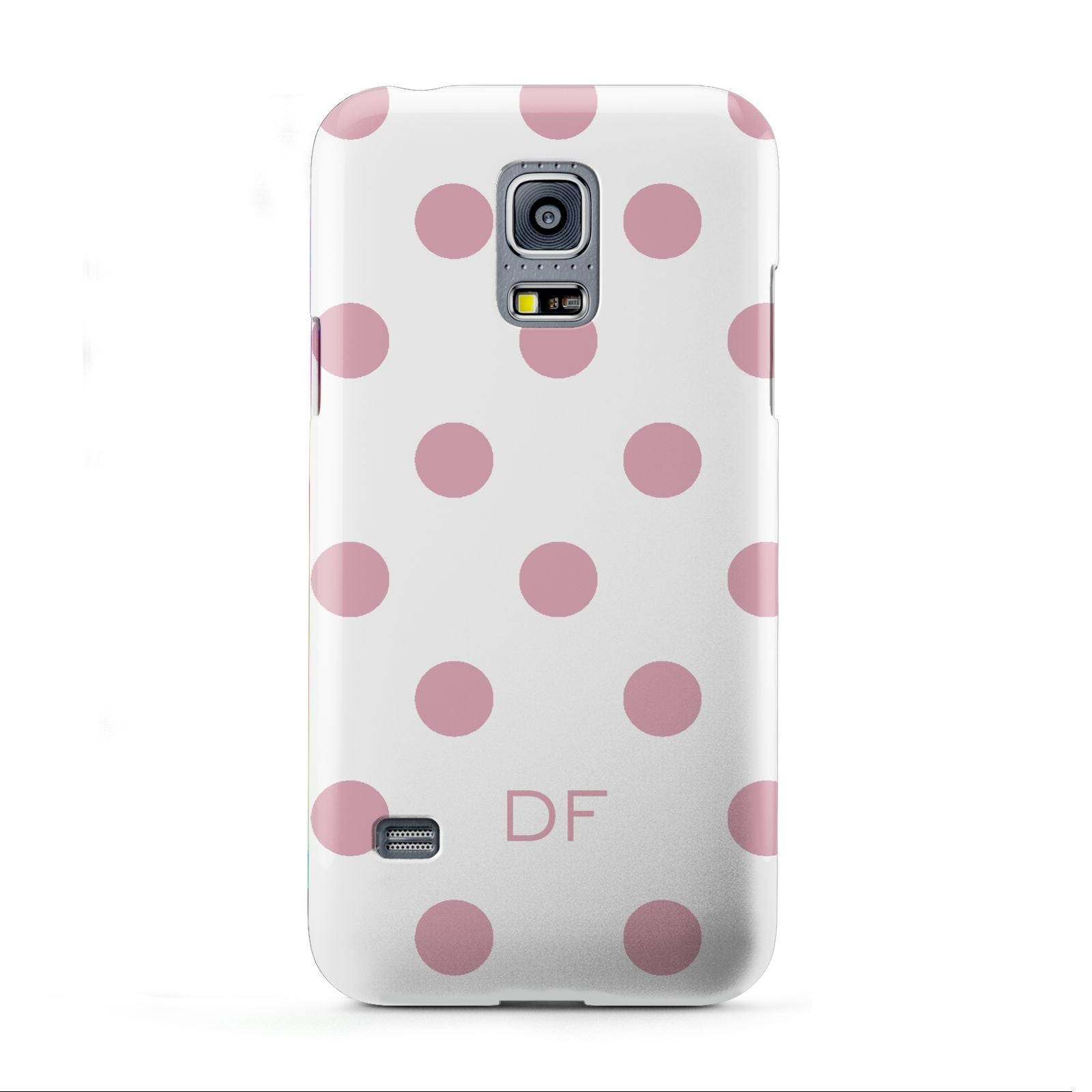 Dots Initials Personalised Samsung Galaxy S5 Mini Case
