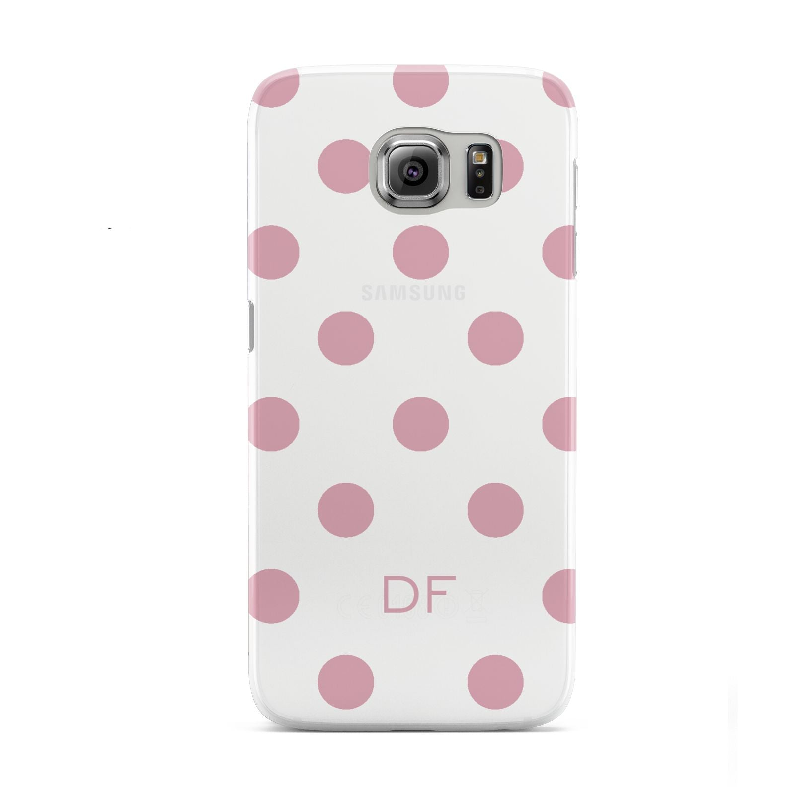 Dots Initials Personalised Samsung Galaxy S6 Case