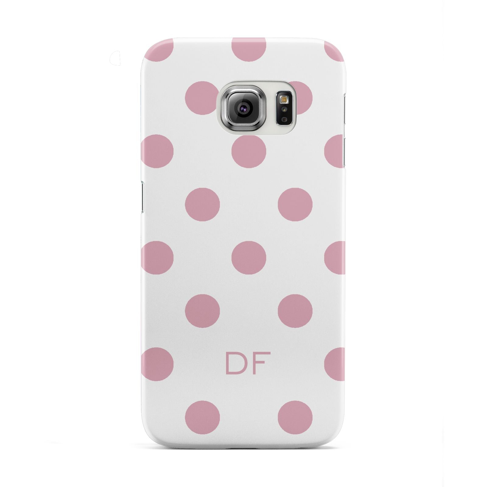 Dots Initials Personalised Samsung Galaxy S6 Edge Case