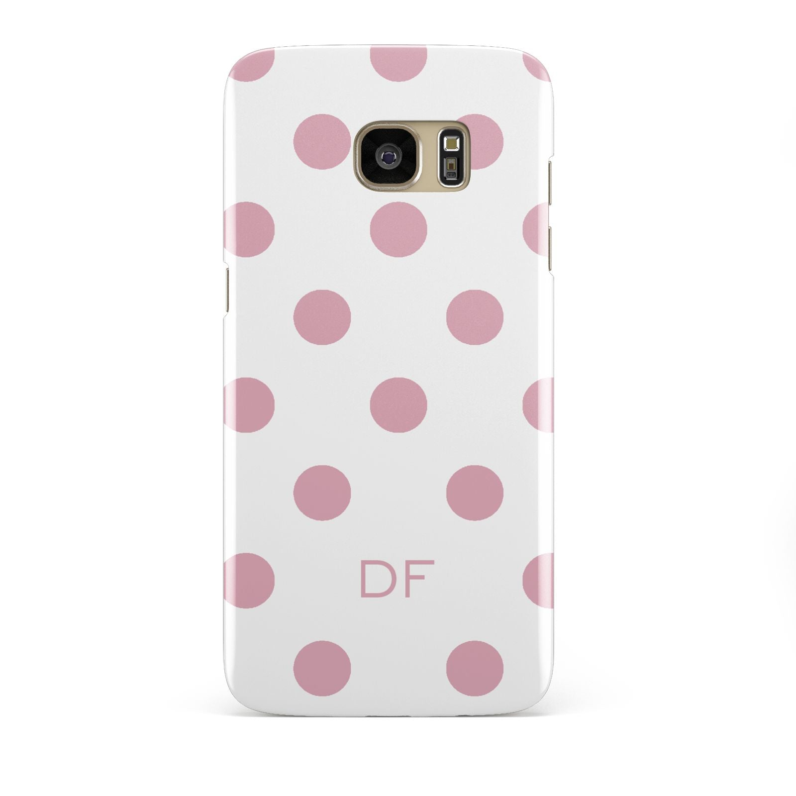 Dots Initials Personalised Samsung Galaxy S7 Edge Case