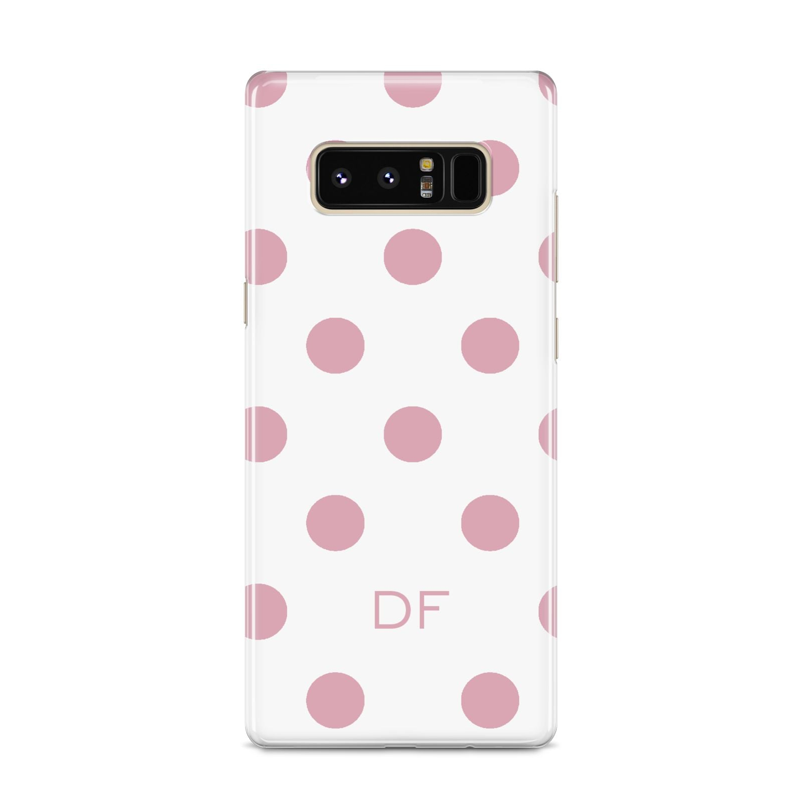 Dots Initials Personalised Samsung Galaxy S8 Case