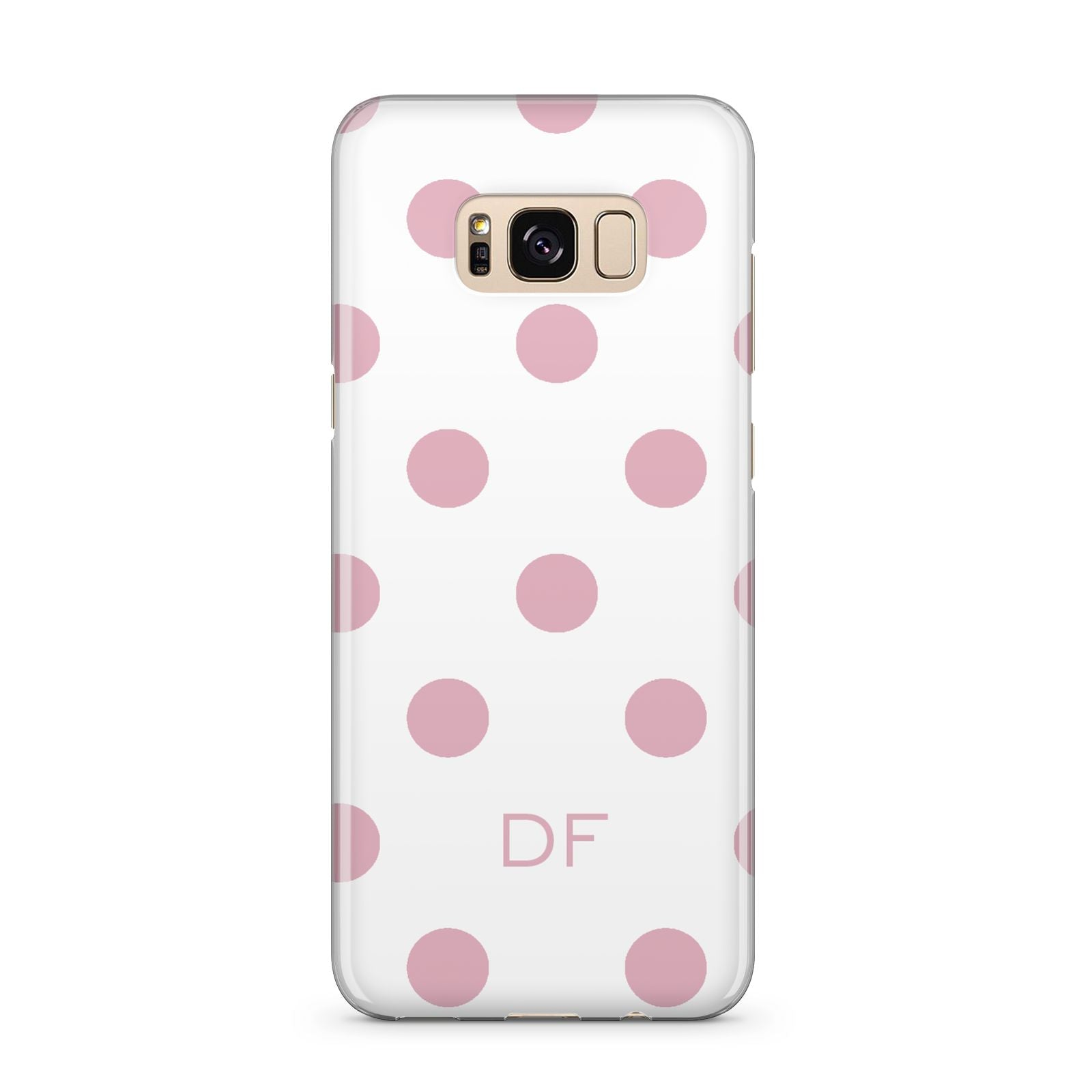 Dots Initials Personalised Samsung Galaxy S8 Plus Case